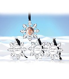 Kate Aspen Set of 16 Snowflake Place Card Holder/Ornament