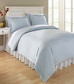 Elite Home Products Hemstitch 400-Thread Count Cotton Duvet Sets