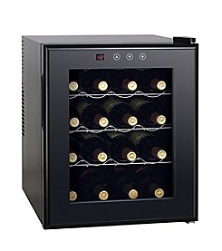 Sunpentown® 16-Bottle Thermo-Electric Wine Cooler with Heating Technology