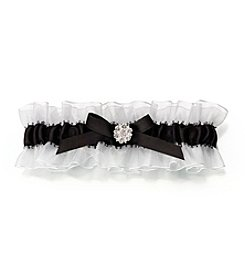 Lillian Rose® Stain Garter with Rhinestones