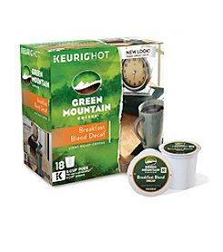Keurig® Green Mountain Coffee® Breakfast Blend Decaf Coffee 18-ct. K-Cup Pods