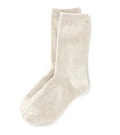 Relativity® Basic Flat Knit Socks