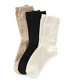 Relativity® Basic Dot Socks