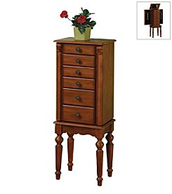 Powell® Jewelry Armoire - Deep Cherry