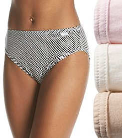 Jockey® Elance® 3-pk. Cosmetic Assorted French Cut Briefs