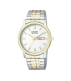 Citizen® Men's Eco-Drive Two-Tone Expansion Watch