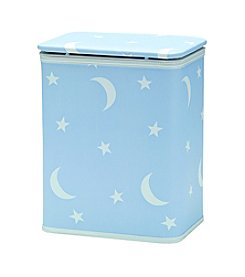 Redmon Stars and Moons Pattern Vinyl Nursery Hamper