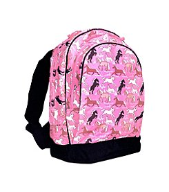 Wildkin Horses Sidekick Backpack - Pink