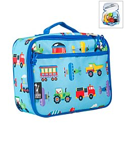 Wildkin Olive Kids Trains, Planes and Trucks Lunch Box