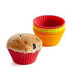 Bethany Housewares Set of 6 Silicone Muffin Liners
