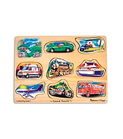 Melissa & Doug® Vehicle Sound Puzzle