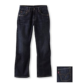 Levi's® 505™ Boys' 28-36 Husky Regular Fit Jeans - Midnight Wash