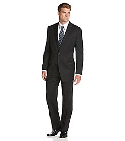 Michael Kors® Men's Solid Black 2-Piece Suit