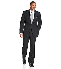 Lauren Ralph Lauren Men's Navy Stripe 2-Piece Suit