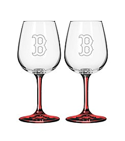 MLB® Boston Red Sox 2-Pack Wine Glasses