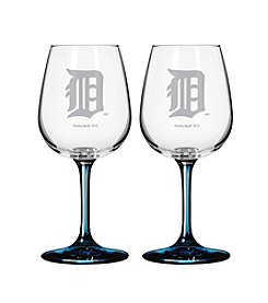 MLB® Detroit Tigers 2-Pack Wine Glasses
