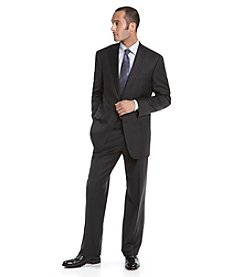 Hart Schaffner Marx® Men's Solid Charcoal Suit
