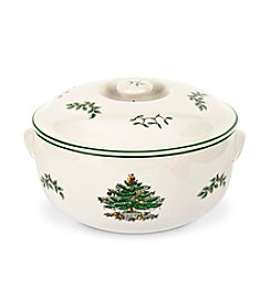 Spode® Christmas Tree Round Covered Casserole