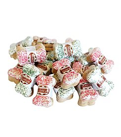 Foppers® Gourmet Pet Treat Bakery 20 3-pks. of Dog Bones Coated with Holiday Sprinkles