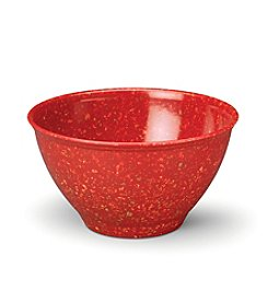 Rachael Ray® 4-Quart Red Melamine Garbage Bowl with Rubber Foot