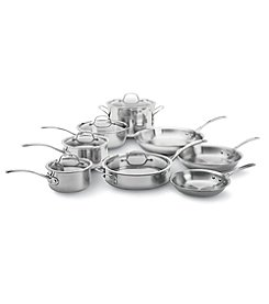 Calphalon® 13-pc. Stainless Steel Tri-Ply Cookware Set + FREE BONUS GIFT see offer details