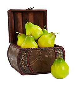 Nearly Natural® 6-pc. Faux Pear Set