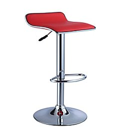 Powell® Set of 2 Thin Seat Adjustable Height Bar Stools