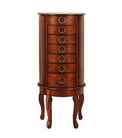 Powell® Woodland Cherry Jewelry Armoire