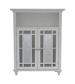 Elegant Home Fashions® Windsor Double Door Floor Cabinet - White