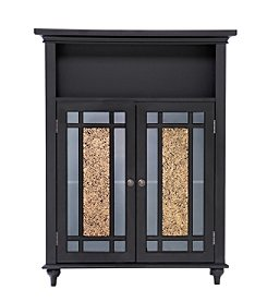 Elegant Home Fashions® Windsor Double Door Floor Cabinet - Dark Espresso