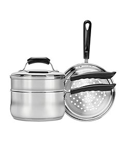 Range Kleen 4-pc. Stainless Steel Steamer or Double Boiler