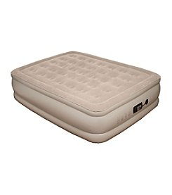 Pure Comfort Raised Queen-Size Sueded Top Air Mattress