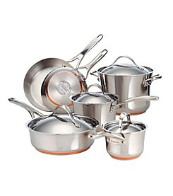 Anolon® Nouvelle 10-pc. Stainless Steel Cookware Set + FREE GIFT see offer details