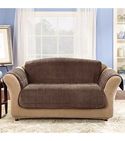Sure Fit® Deluxe Comfort Protective Loveseat & Sofa Cover