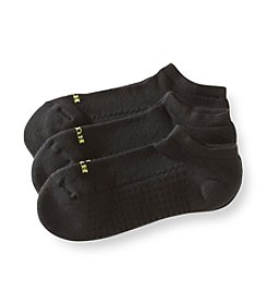 HUE® 3-Pack Air No-Show Socks