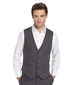 REACTION Kenneth Cole Men's Gray Vest