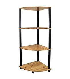 Ore International™ 4-Tier Corner Bookshelf