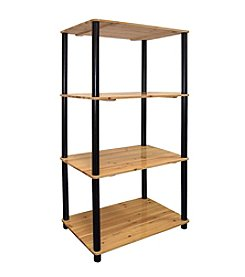 Ore International™ 4-Tier Bookshelf