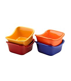 Rachael Ray® Stoneware 4-pc. Square Dipping Cups