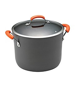 Rachael Ray® 10-qt. Hard-Anodized II Cookware Covered Stockpot