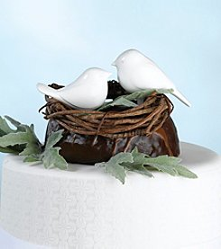 Lillian Rose® Love Birds Cake Picks - White