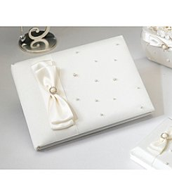 Lillian Rose® Ivory Scattered Pearl Guest Book