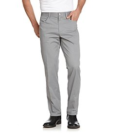 Calvin Klein Men's 5-Pocket Sateen Casual Pants