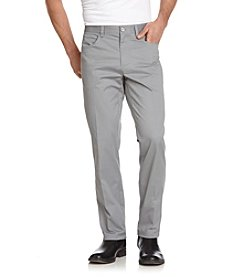 Calvin Klein Men's 5-Pocket Sateen Stretch Casual Pants