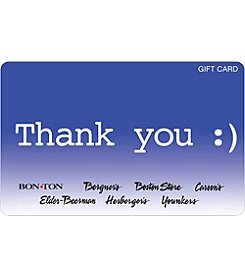 Gift Card - Thank You Smile Emoticon