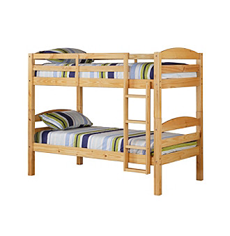 Homepage > bed bath > w designs natural twin solid wood bunk bed