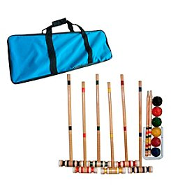 Trademark Games™ Complete Croquet Set with Carrying Case