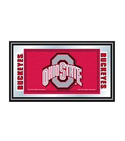 NCAA® Ohio State University Logo Framed Mirror