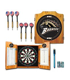 Trademark NCAA® Western Michigan Broncos Dart Cabinet with Darts and Board