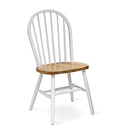 International Concepts Windsor Two-Tone High Spindleback Wood Chair